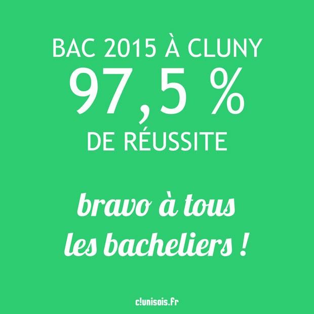reussite-bac-2015-cluny